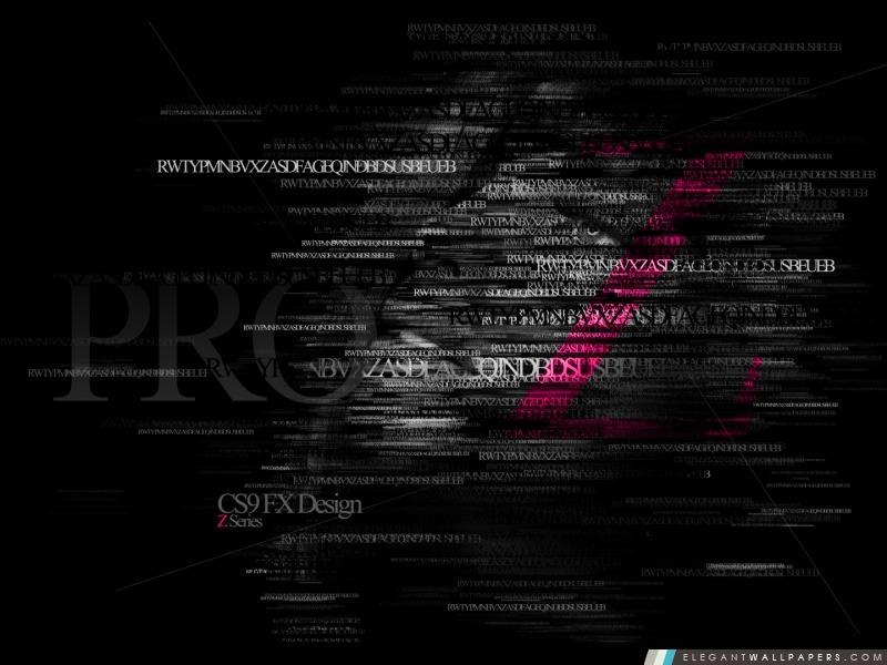Typographie – Série Z -3, Arrière-plans HD à télécharger