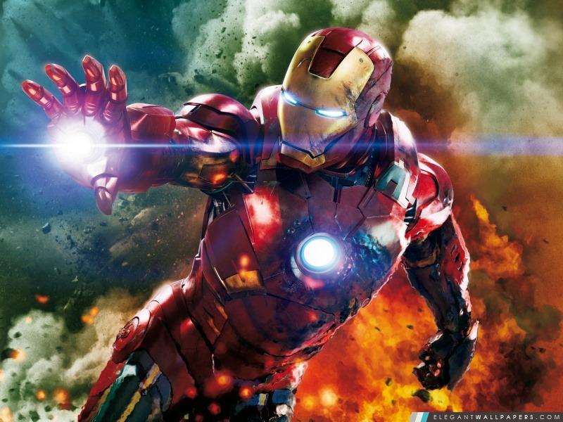 The Avengers – Hulk et Ironman, Arrière-plans HD à télécharger