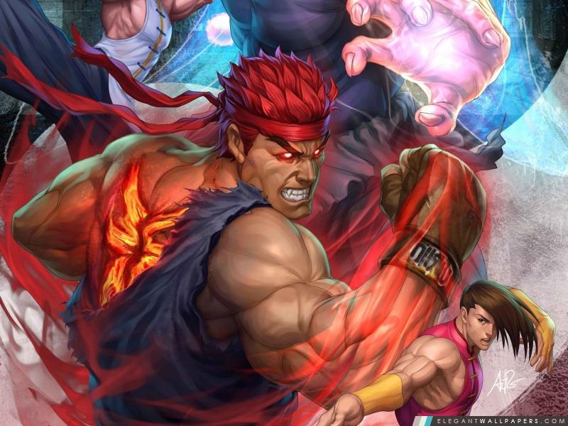 Super Street Fighter Arcade Edition, Arrière-plans HD à télécharger