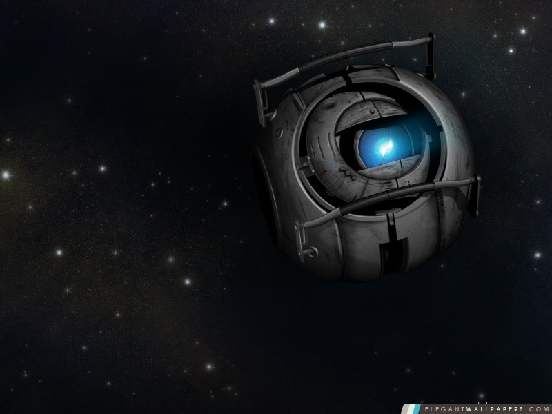 Portal 2 Wheatley dans l'espace, Arrière-plans HD à télécharger