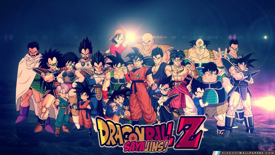 Dragon Ball Z Fond D Ecran Hd Par Chaker Conception Fond