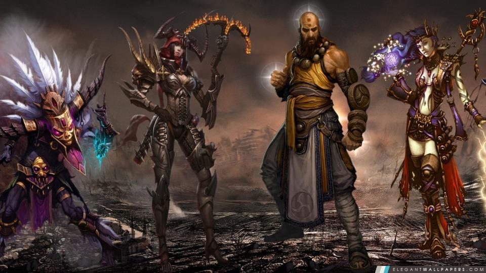 Diablo3 Dual Screen, Arrière-plans HD à télécharger