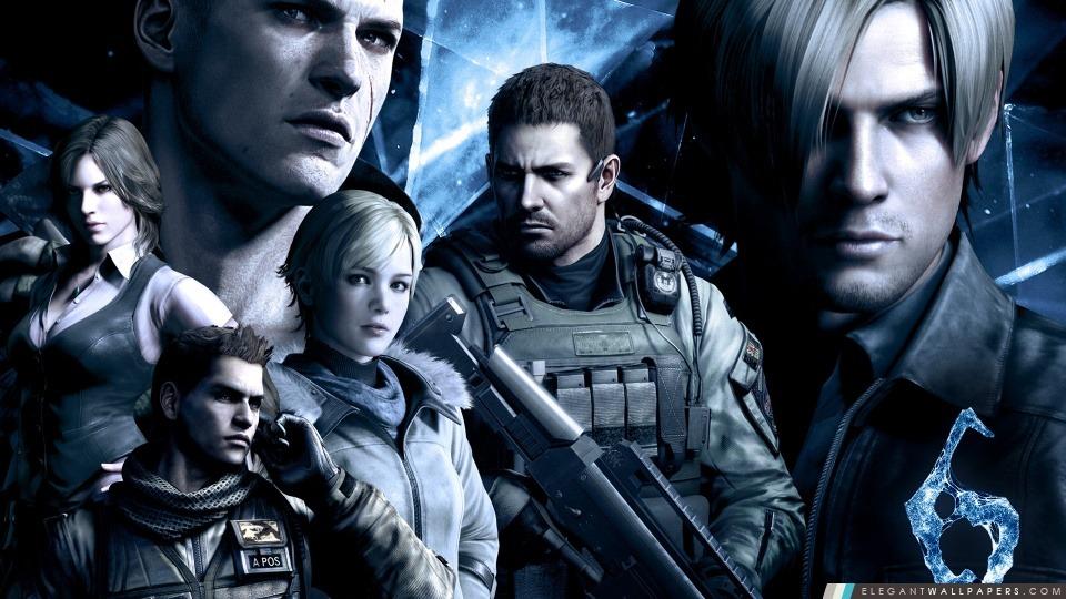 Resident Evil 6 caractères, Arrière-plans HD à télécharger