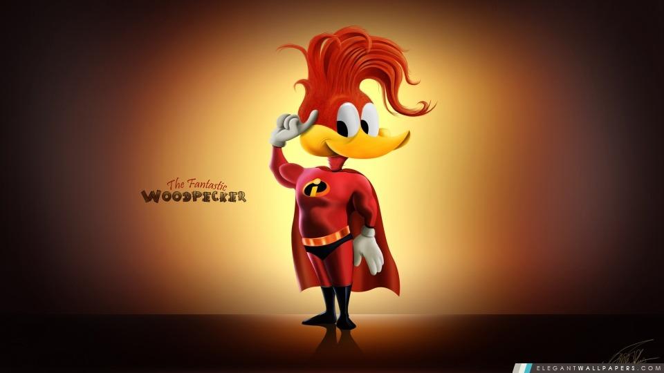 Woody Woodpecker, Arrière-plans HD à télécharger