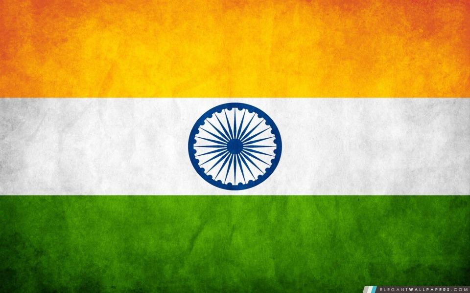 Drapeau de l'Inde, Arrière-plans HD à télécharger